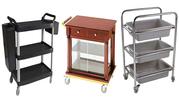 Hotel Equipment Australia - Trolleys,  Racks,  Carts,  Tables,  Bins