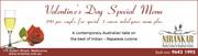 Special Valentine Day Menu on 14th February 2015 at Nirankar