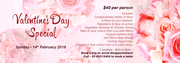 Valentine's Day Special Offers From Curry Leaf - Best Restaurants In Melbourne.