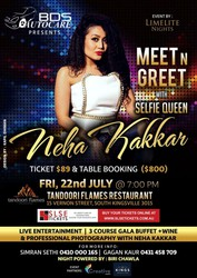 Meet N Greet with Selfie Queen Neha Kakkar at Tandoori Flames