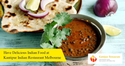 Taste the Authentic Indian Food in Melbourne