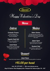 Rediscover Romance at Our Indian Restaurant this Valentine's Day