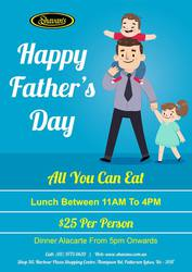 Do You Have Planned Something Special This Father's Day? Visit Us
