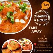 Indian Restaurant Hoppers Crossing – Ghazal Buffet & Bar